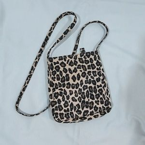 Leopard crossbody purse by Nine West